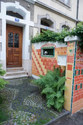 Bed and Breakfast eigenArt20, Basel, Hauseingang